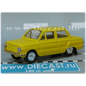 Zaz 968 Zaporozhets 1972-1979 A16 Opening Hood And Trunk Color Yellow 1:43 D43R1927