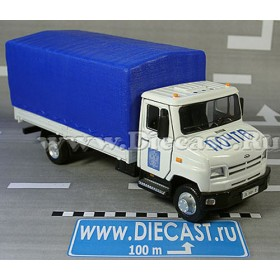 Zil 5301 Bichok Bull Be Russian Post Service Mail Delivery Canv 1:43 D36W1382