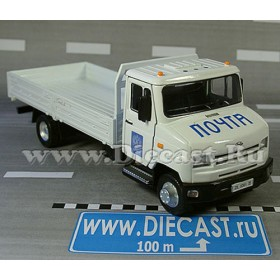 Zil 5301 Bichok Bull Ee Russian Post Service Mail Delivery Flat 1:43 D36W1377
