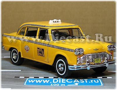 Checker 1963 New York Taxi Cab 1:34 scale