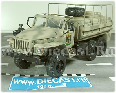 Ural 4320 6x6 iraq army military water tanker delivery truck russian 1